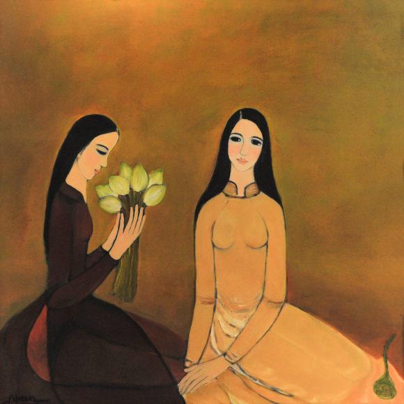 ladies with the lotus